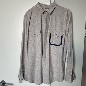 Filson x Levis collab Wool Button Down size L